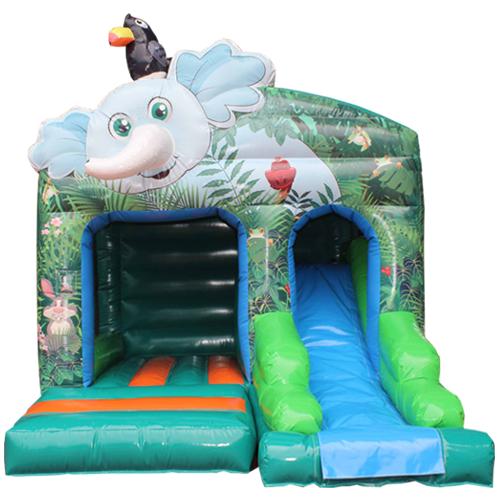 cheter le Château Gonflable Éléphant avec toboggan