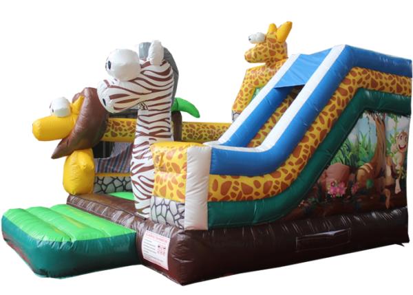 Acheter le Château Gonflable Animaux de la jungle