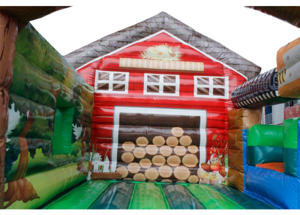 Acheter le Château Gonflable Cabane en bois