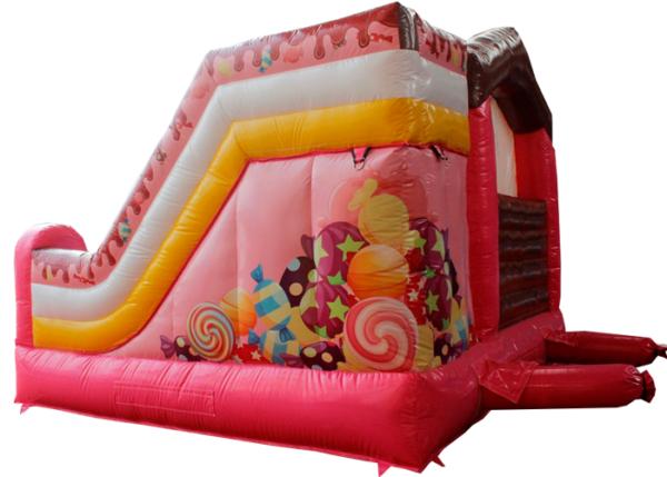 Acheter le Château Gonflable Candy avec toboggan