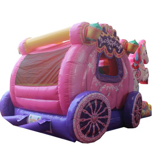 Acheter le Château Gonflable Carrosse de Princesses