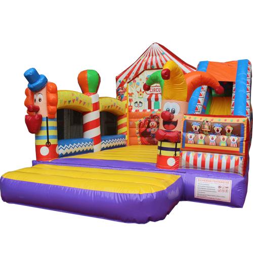 Acheter le Château Gonflable Cirque avec toboggan