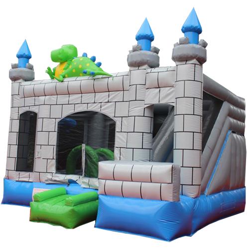 Acheter le Château Gonflable Dragon avec toboggan