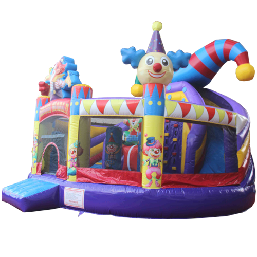 Acheter le Château Gonflable Multiplay Cirque avec toboggan