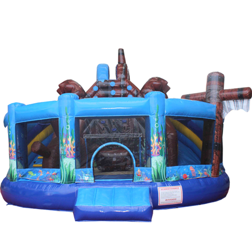 Acheter le Château Gonflable Multiplay Sous-marin avec toboggan