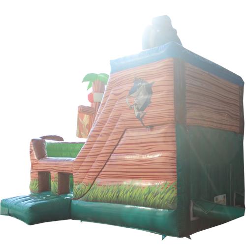 Acheter le château gonflableAnimaux sur bateau pirate