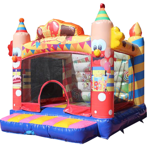 Acheter un château gonflable clown