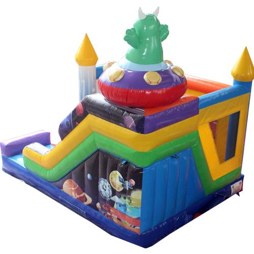 Acheter le château gonflable Extraterrestre avec Toboggan