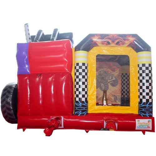 Acheter le château gonflable Monster Truck avec Toboggan