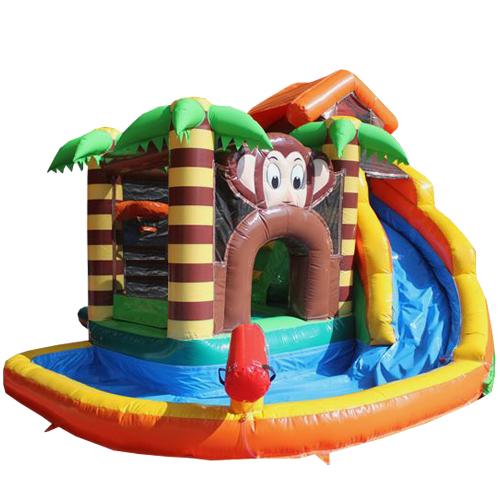 Acheter le château gonflable Toboggan Aquatique Jungle