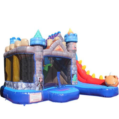 Acheter le château gonflable Toboggan Dragon