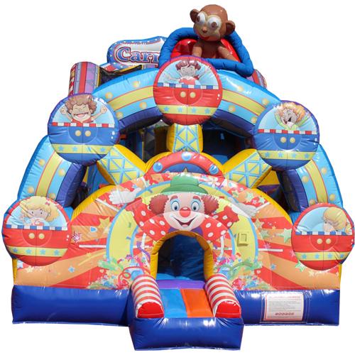 Acheter le château gonflable Toboggan Festival
