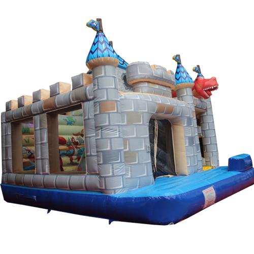 Acheter le château gonflable Tourelle avec Toboggan